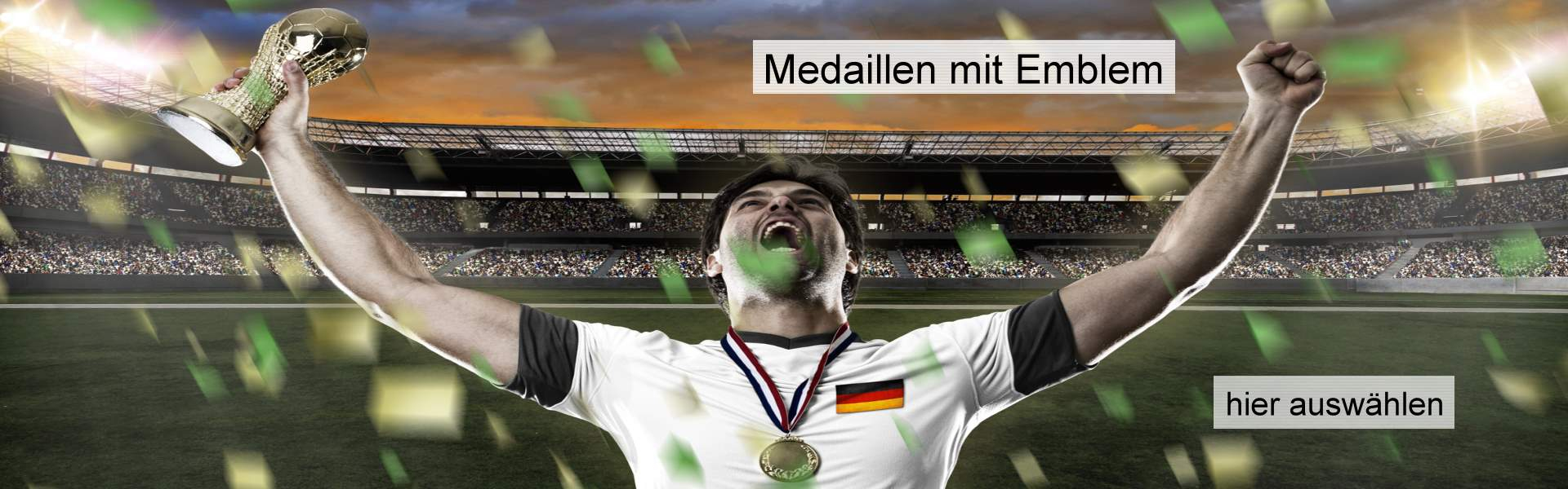 Slider Medaillen
