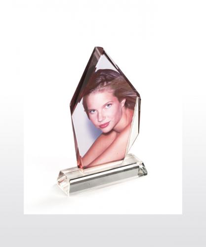 Glaskristall 150 x 220 x 40 mm