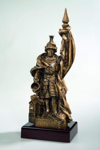 Feuerwehrfigur St. Florian 36cm mit Gravur
