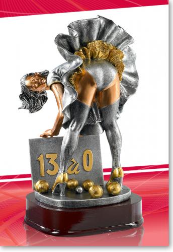 Boule Petanque Trophy 25cm mit Gravur