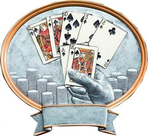 Poker Trophy Pokal mit Gravur