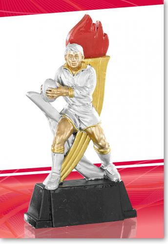 Rugby Figur Trophy 15cm mit Gravur
