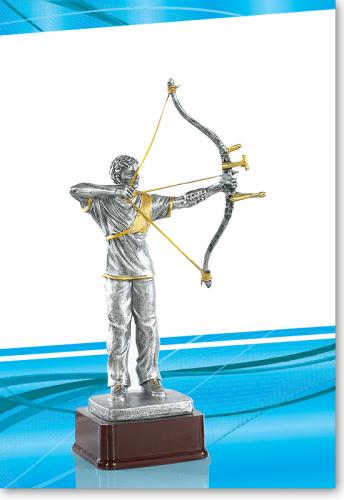 Bogenschießen, Bogenschütze Trophy 26cm mit Gravur