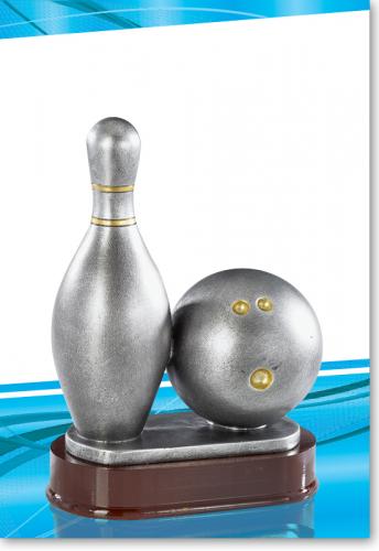 Bowlingsport, Bowling Pokal Trophy 24cm mit Gravur