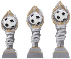 Fußballpokal Ballmotiv