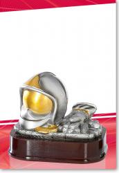 Helm und Handschuhe 12cm mit Gravur
